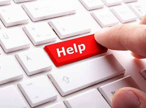 How can I help people online in need?