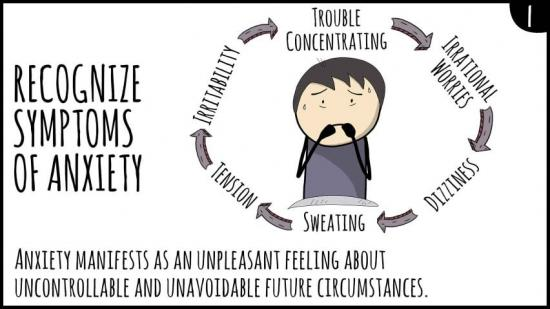 How do you know when anxiety is normal or something you should seek help with?