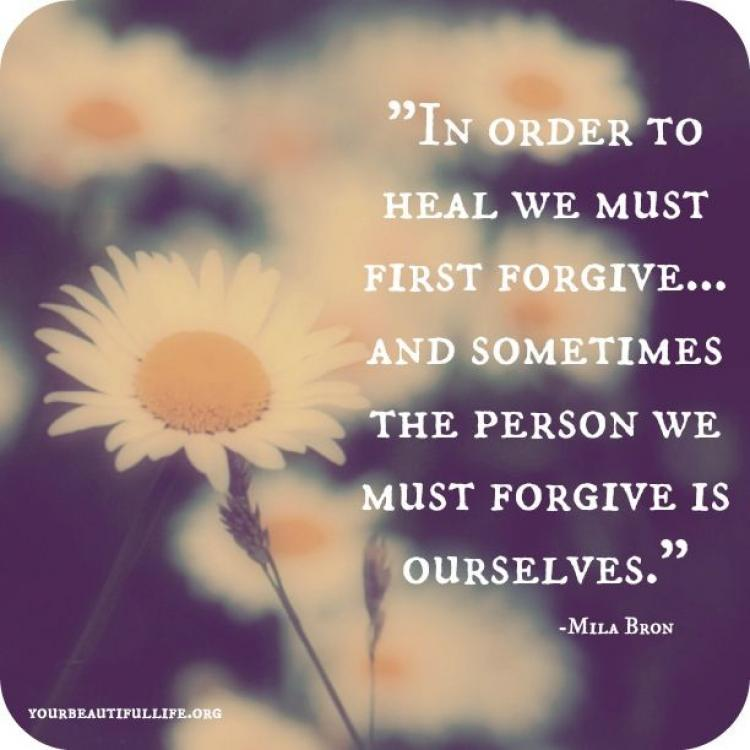 Forgive Cheating Yourself To How After