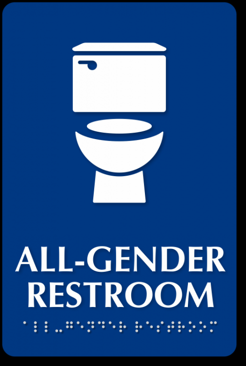 I work with a gay man and he uses the women's restroom instead of the men's. Does he maybe identify himself as a man or as a woman?