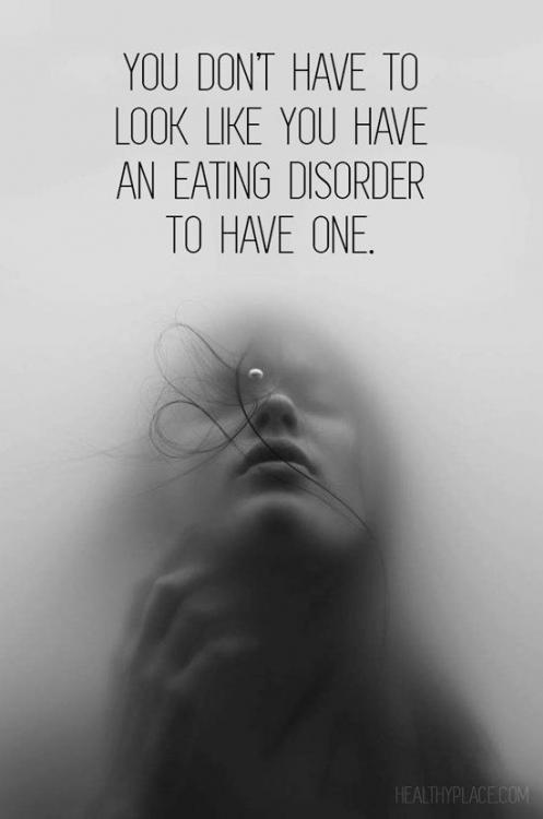 Is it possible to have a binge eating disorder but still be skinny?